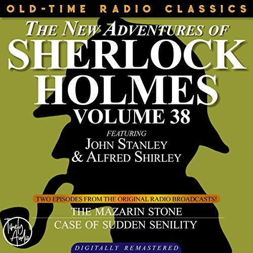 The New Adventures of Sherlock Holmes, Volume 38; Episodes 1 and 2 cover art