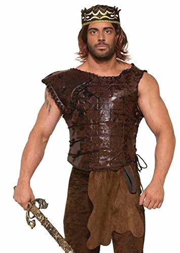 shoperama Brown Armour for Men Size L/XL