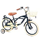 FOUJOY Kids Bike 18 Inch with Training Wheels and Basket for...