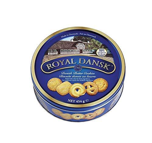 galletas finas marcas fabricante Royal Dansk