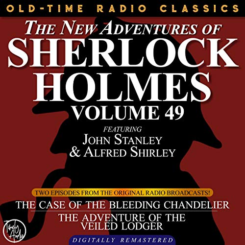 The New Adventures of Sherlock Holmes, Volume 49; Episodes 1 and 2 cover art