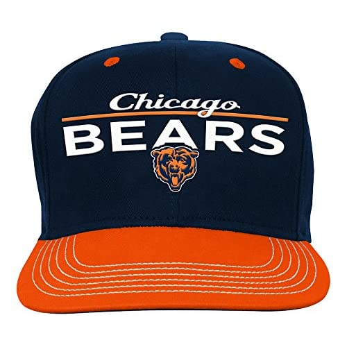 NFL Youth Boys Retro Bar Script Flatbrim Snapback Hat 00db27550bec