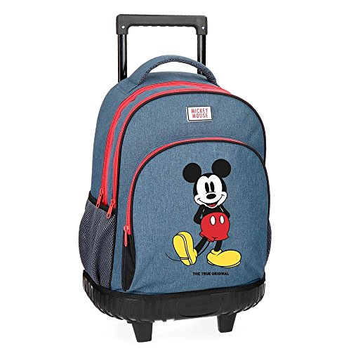 Disney Blue School Backpack, 43 cm, 31.65 liters, (Azul)