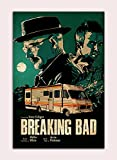 Póster de la película Breaking Bad Wall Art Cuadro Cuadro Cuadro de impresión de pintura Breaking Bad Poster Decoración Mural para sala de estar (30 x 45 cm), sin enmarcar