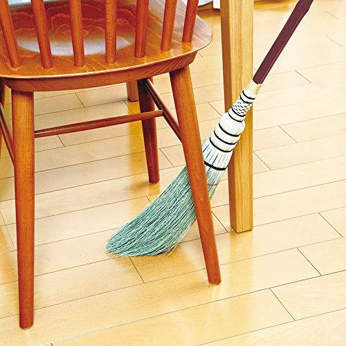 アズマ室内用ほうきモダンブルーム短柄穂幅10cm全長87cmテーブルの下や家具のスキマの掃除に最適MB135
