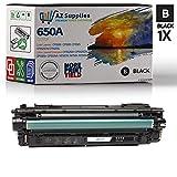 AZ 互換トナーカートリッジ HP 650A (CE270A) 交換用 - 1 ブラック
