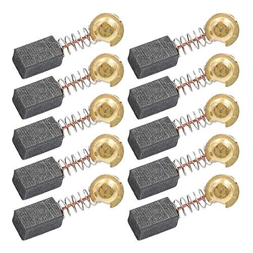 sourcingmap 5 paia di sostituzione di 6,5 x 7,5 x 12.5mm motore Spazzole di carbonio per di strumenti l'alimentazione