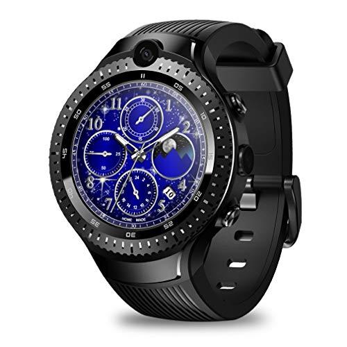 JIEGEGE Thor 4 Dual 1 + 16G Smartwatch, 5.0MP Dual-Kamera Für Videoanrufe, 1.4 Zoll Advanced AMOLED Technology Full-Round Display, Für IOS Und Android
