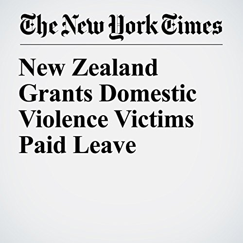 New Zealand Grants Domestic Violence Victims Paid Leave copertina