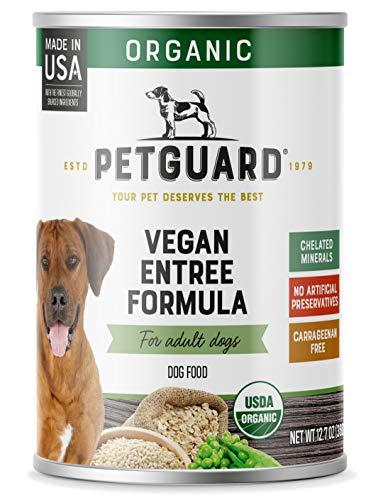 PetGuard Vegan Entree Canned Dog Food, USDA Certified Organic, 12.7-oz, case of 12