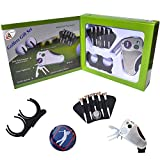 Golfer'S Best Golf Gift Set: Tool - Stroke Counter, Divot Tool Repair, Brush, Ball Marker, Cleat Tightener, Club Groove Cleaner Belt Tee Holder Tees Belt Ball Holder - Gift Idea for Men Women