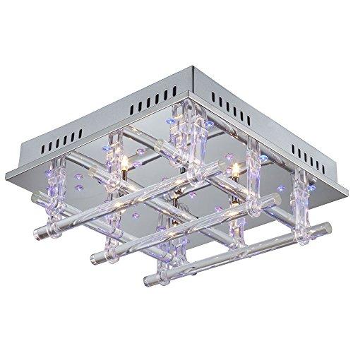 Deckenleuchte Lampe Beleuchtung Deckenlicht LED Deckenlampe ESTO Zirkon 990050-4