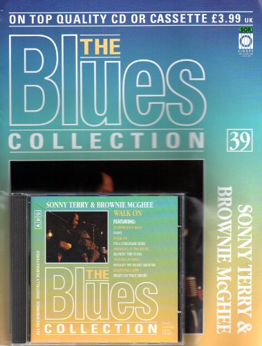 THE BLUES COLLECTION Magazine no 39 SONNY TERRY & BROWNIE McGHEE &