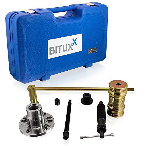BITUXX® 3in1 Radlager Hydraulischer Abzieher Werkzeug Satz KFZ Radnaben Antriebswellen Ausdrücker Set