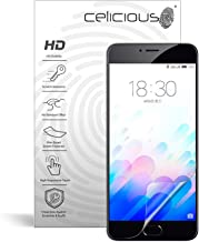 Celicious Vivid Invisible Glossy HD Screen Protector Film Compatible with Meizu M3 Note [Pack of 2]