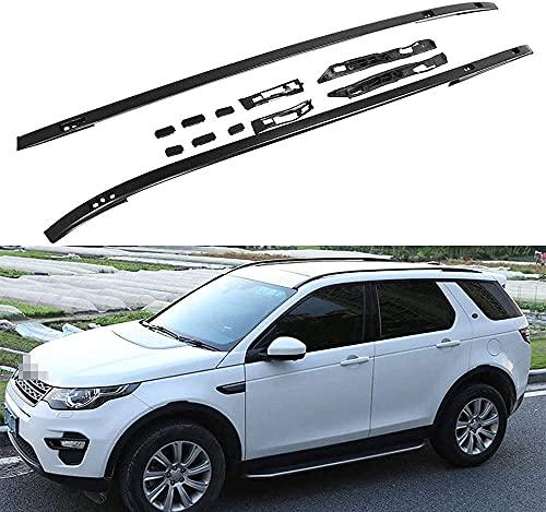 Coche Bacas Barra Transversal para Land Rover Discovery Sport 2015-2020, Barras portadoras de aluminio Portaequipajes Bastidores de bicicletas Accesorios de estilo de coche
