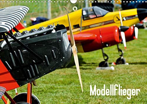 Modellflieger (Wandkalender 2021 DIN A3 quer)