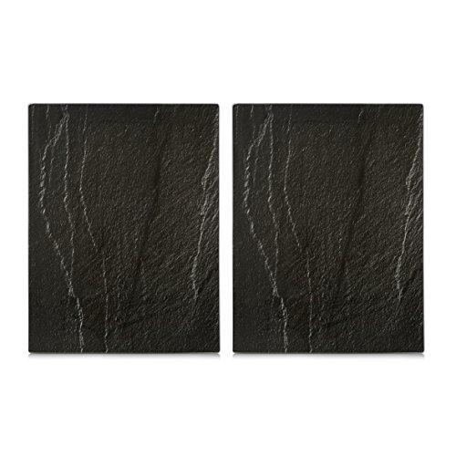 Zeller 26323 Couvre-plaques de cuisson Anthracite