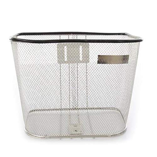 Buy Bargain MAODATOU-Sport Bike Basket Mesh Bicycle Front Basket Bike Vintage Stainless Steel Basket...