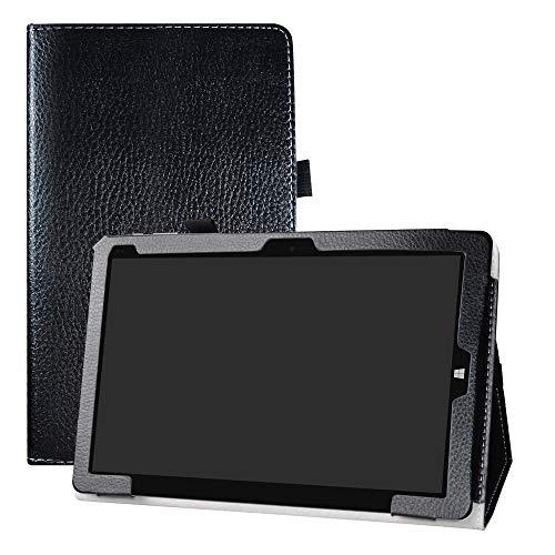 "LFDZ Chuwi Hi10 Air Funda, Soporte Cuero con Slim PU Funda Caso Case para 10.1"" Chuwi Hi10 Air Tablet (No Encaja CHUWI Hi10 / Hi10 Plus),Negro"