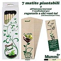 Arriva la matita che si pianta e fa nascere erbe aromatiche