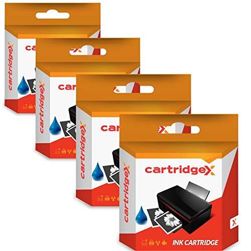 Cartridgex 4 Cyaan High Cap compatibele inktcartridges vervanging voor 364XL HP PhotoSmart 5520 5524 6510
