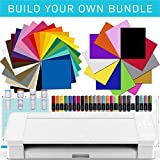 Silhouette CAMEO 3 Bluetooth Starter Bundle with 12 Oracal...