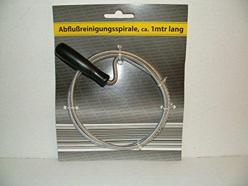 Rohrreinigungswelle Abflußreinigungsspirale Ø 5mm x 1m lang Rohrreinigung