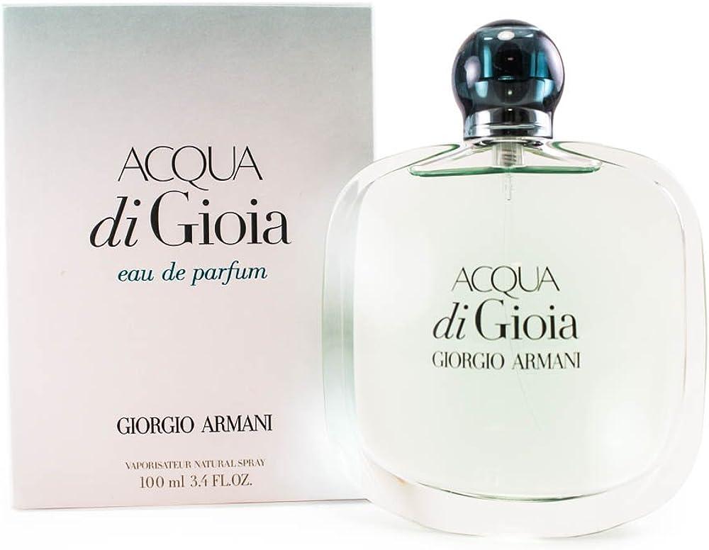 Giorgio armani acqua di gioia eau de parfum per donna, 100 ml GA559909