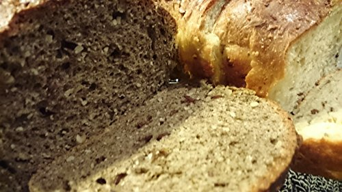 Nur 1,1g/100g Kohlenhydrate! 4er Pack Fitter ins Leben Paleo Low Carb Helles Körner Eiweißbrot lowcarb Brotbackmischung vegan Brot Eiweiß 33g/100g - 4