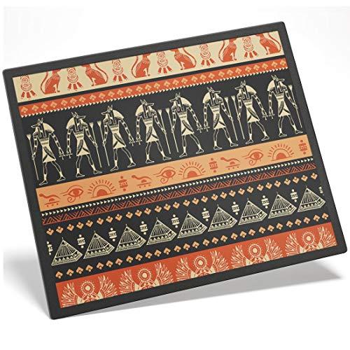 Destination 44942 - Alfombrilla de plástico (8 x 10 cm), diseño de pirámides egipcios Egipto Giza