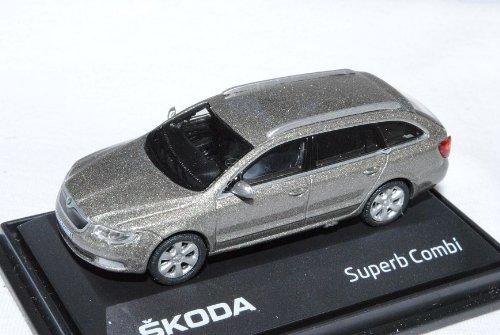 Abrex Skoda Superb 2010 ii 2 Kombi Cappuccino Beige Metallic 015yb 1/72 Modellauto Model Auto