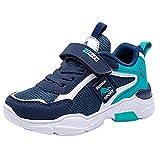 CELANDA Zapatillas de Running para Niños Calzado Deportivo Niños Niñas Calzado Transpirables Ligeros Zapatillas de Tenis Unisex Entrenamiento Escolar Atletismo Sneakers 26-37EU