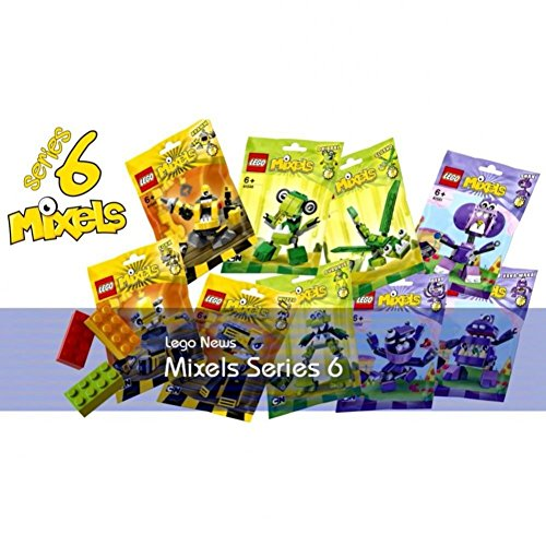 Lego Mixels Series 6 Complete Set (9 Figures) by LEGO
