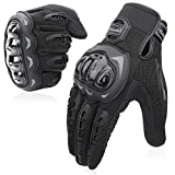 COFIT Motorcycle Gloves, Full Finger Touchscreen Gloves for Motorbike Racing, ATV Riding, Climbing