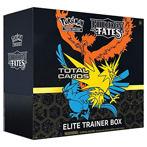 Pokémon TCG: Hidden Fates Elite Trainer Box, Multi
