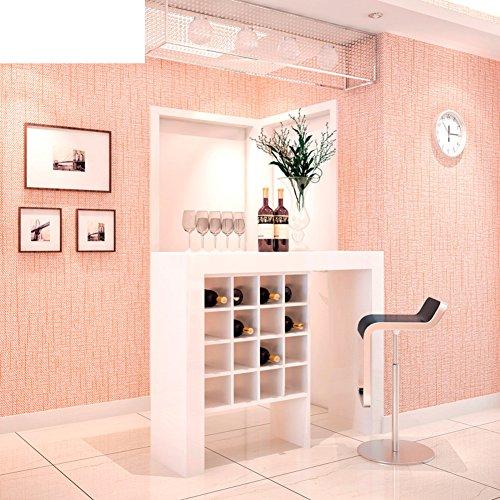 Scandinavisch IKEA behang / modern minimalistisch behang / puur eenvoudig behang / linnen behang / studie bureau behang -C