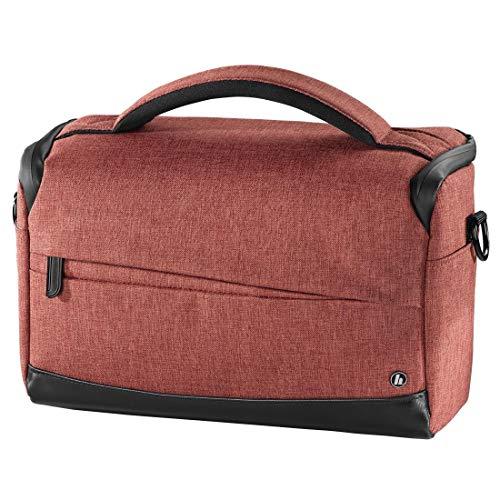 Hama Unisex Sac Pour Appareil Photo Trinida, 135, Rouge Handtasche, Rot (Rot), 13.5x20.5x26.5 cm