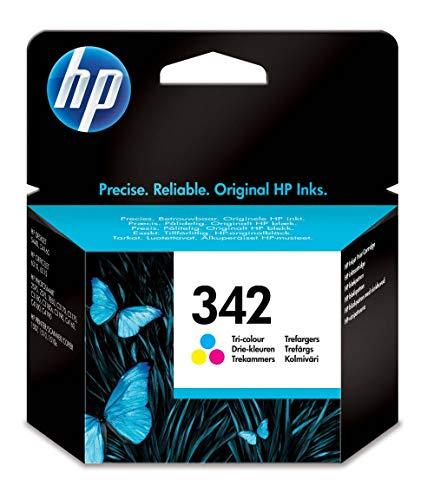 HP 342 C9361EE pack de 1, cartouche d'encre d'origine, imprimantes HP DeskJet, HP OfficeJet, HP Photosmart, HP Pro Photo, trois couleurs (cyan, magenta, jaune)