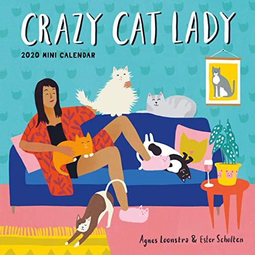 "Crazy Cat Lady Mini Wall Calendar 2020 [7"" x 7"" Inches]"