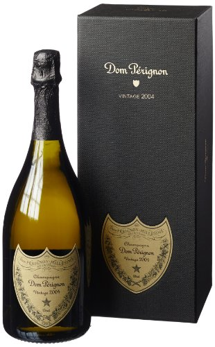 DomPérignonVintage2004 Champagner mit Geschenkverpackung (1 x 0.75 l)