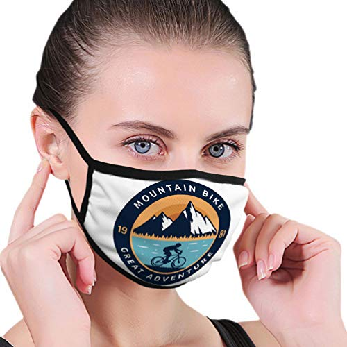 Face Covers Warm Windproof Modern Downhill Bike Logo Badge Extreme Mountain Adventure Fervent Unisex Shield