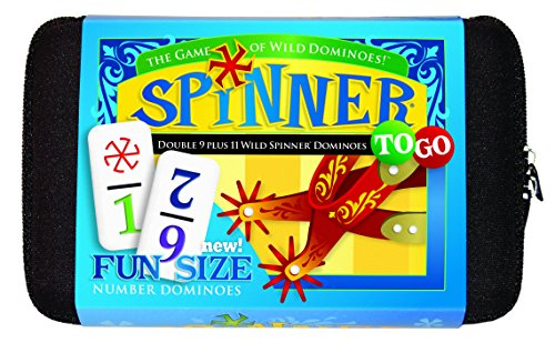 Spinner To Go Number Dominoes