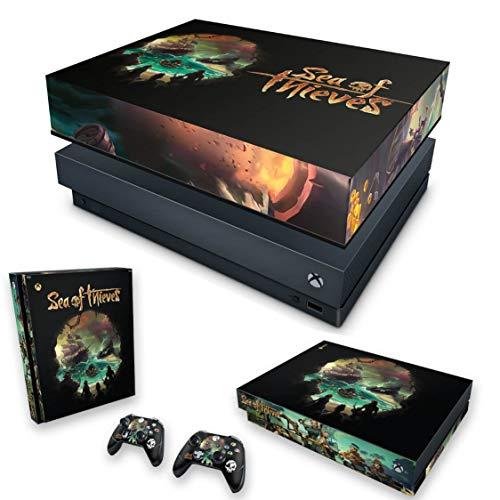 Capa Anti Poeira e Skin para Xbox One X - Sea Of Thieves