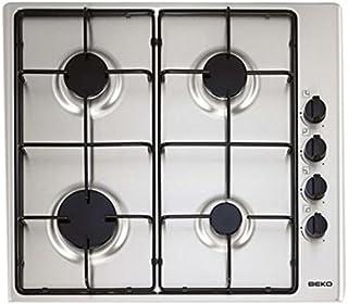comprar comparacion Beko HIZG64101SX - Encimera Indep, 4 Fuegos, Inox, 60Cm