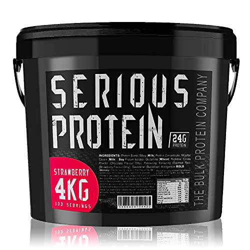 The Bulk Protein Company - SERIOUS Protein 4kg - Low Carb Lean Protein...
