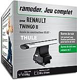 Rameder Pack Barres de Toit WingBar Evo pour Renault TWINGO II (114837-05611-1-FR)