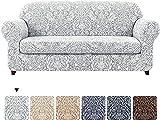 CHNSKIN - Fundas de sofá universales de 2 piezas, funda de sofá...