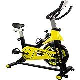 CENTURFIT Bicicleta Fija Disco Rueda de 11 Kg Estatica Spinning Fitness Cardio Ciclismo Interior Entrenamiento Cardiovascular Gimnasio Gym Excelente Calidad Ejercicio Casa