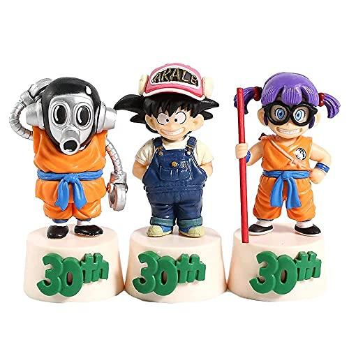 Anime Geschenk Anime Modell Puppe 30. Jahrestag von Drachenkugel, F Belohnung Sun Wucong Toriyama Akira Arale Spielzeug Action Figuren Skulptur 10 cm